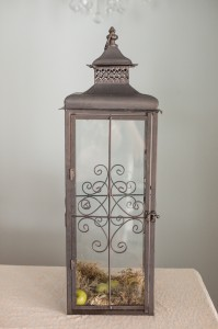 Brown Scroll Lanterns Image