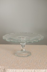 Glass Vintage Cake Stand Image