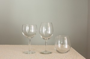 Stemmed Wine Glasses Image