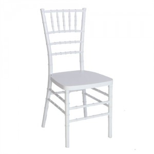 White Wooden Chiavari Chair Image