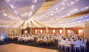 Ceiling & Wall Draping Image