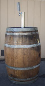 Wine Barrel Beer Tap Image