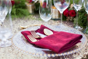 Gold Flatware Image