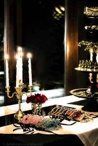 Five Tier Gold Candelabras Image