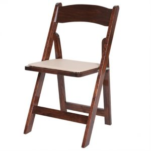 Fruitwood Folding Chair Image